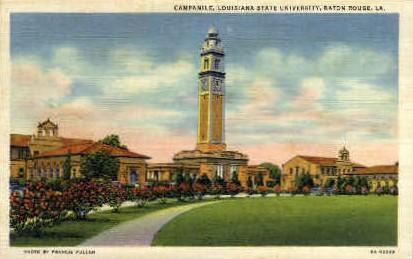 Campanile, Louisiana State University - Baton Rouge Postcard