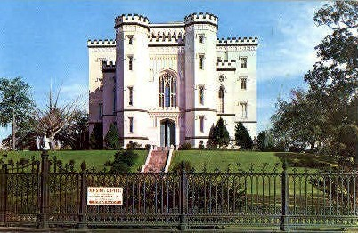 The Old State Capitol - Baton Rouge, Louisiana LA Postcard