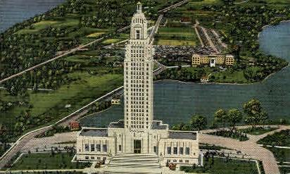 Louisiana State Capitol - Baton Rouge Postcard