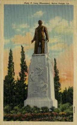 Huey P. Long Monument - Baton Rouge, Louisiana LA Postcard