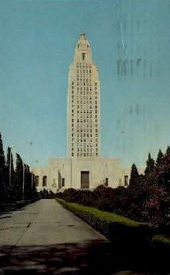 Baton Rouge, Louisiana, LA Postcard