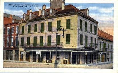 Nepoleon Bonaparte House - New Orleans, Louisiana LA Postcard