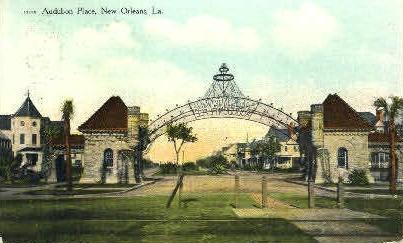 Audubon Place - New Orleans, Louisiana LA Postcard