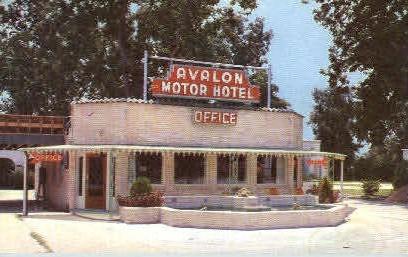 Avalon Motor Hotel - New Orleans, Louisiana LA Postcard