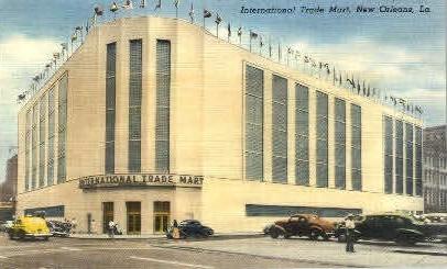 International Trade Mart - New Orleans, Louisiana LA Postcard