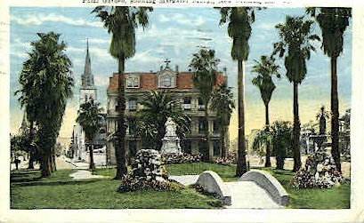 Palm Garden  - New Orleans, Louisiana LA Postcard