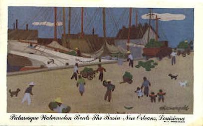 The Basin - New Orleans, Louisiana LA Postcard
