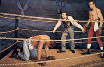 James Corbert defeats John L Sullivan - New Orleans, Louisiana LA Postcard