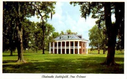 Chalmette Battlefield - New Orleans, Louisiana LA Postcard