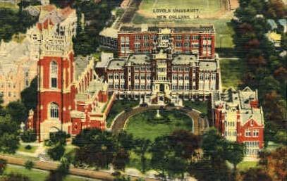 Loyola University - New Orleans, Louisiana LA Postcard
