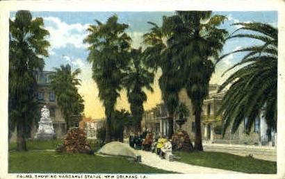 Statue of Margaret Haughery - New Orleans, Louisiana LA Postcard