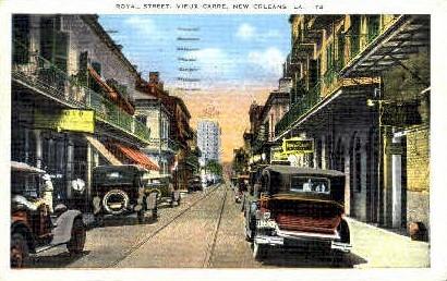 Vieux Carre - New Orleans, Louisiana LA Postcard