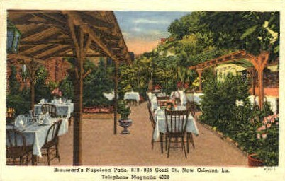 Broussard's Napoleon Patio - New Orleans, Louisiana LA Postcard