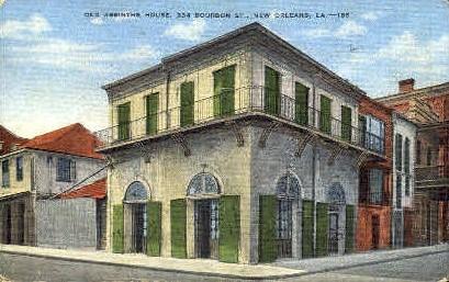 Old Absinthe House - New Orleans, Louisiana LA Postcard