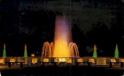 Mardi Gras Fountain  - New Orleans, Louisiana LA Postcard