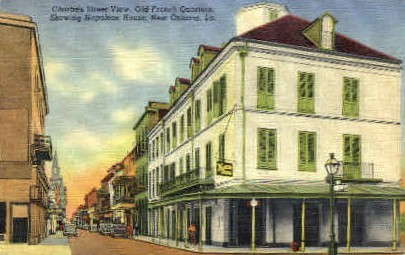 Old French Quarters - New Orleans, Louisiana LA Postcard