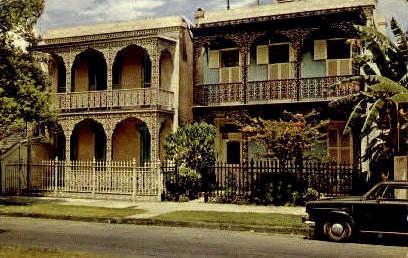 Antebellum Homes - New Orleans, Louisiana LA Postcard