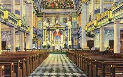 St. Louis Cathedral  - New Orleans, Louisiana LA Postcard