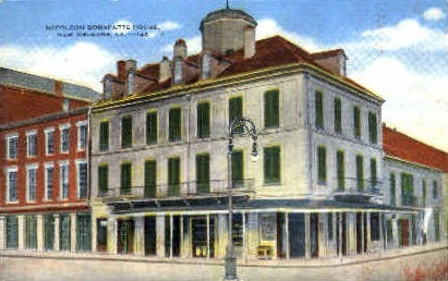Napoleon Bonaparte House - New Orleans, Louisiana LA Postcard