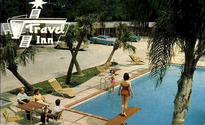 Travel Inn - New Orleans, Louisiana LA Postcard