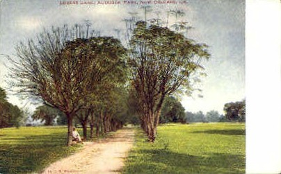 Audubon Park - New Orleans, Louisiana LA Postcard