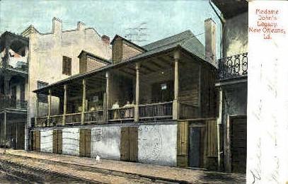 Madame John's Legacy - New Orleans, Louisiana LA Postcard