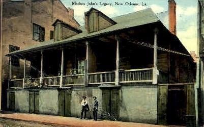 Madam John's Legacy - New Orleans, Louisiana LA Postcard