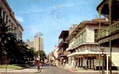Royal Street - New Orleans, Louisiana LA Postcard