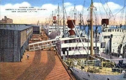 Harbor View - New Orleans, Louisiana LA Postcard