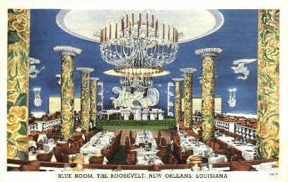 Blue Room - New Orleans, Louisiana LA Postcard