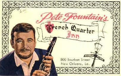 A folder not a postcard, French Quarter Inn - New Orleans, Louisiana LA