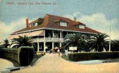 Country Club - New Orleans, Louisiana LA Postcard