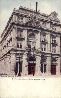 Cotton Exchange Building - New Orleans, Louisiana LA Postcard