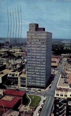 The Beck Building - Baton Rouge, Louisiana LA Postcard