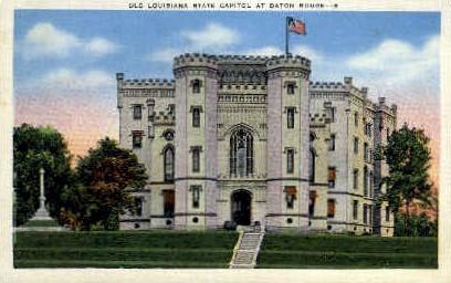 Old Louisiana State Capitol  - Baton Rouge Postcard