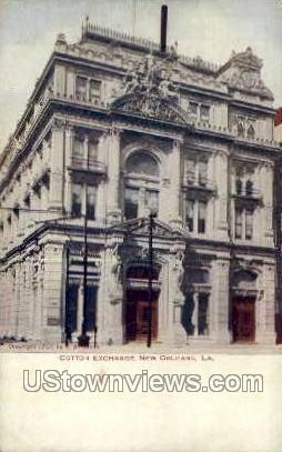 Cotton exchange - New Orleans, Louisiana LA Postcard