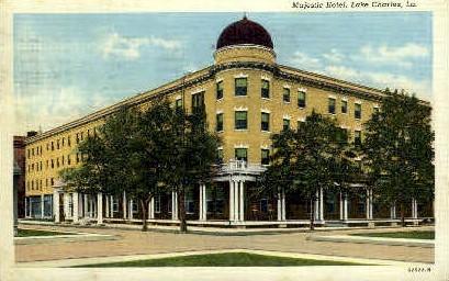 Majestic Hotel  - Lake Charles, Louisiana LA Postcard