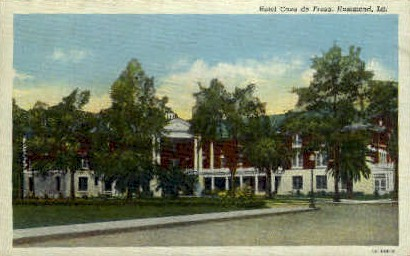 Casa De Fresa Hotel  - Hammond, Louisiana LA Postcard