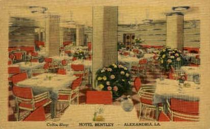 Hotel Bently  - Alexandria, Louisiana LA Postcard