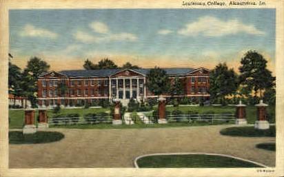 Louisiana College  - Alexandria Postcard