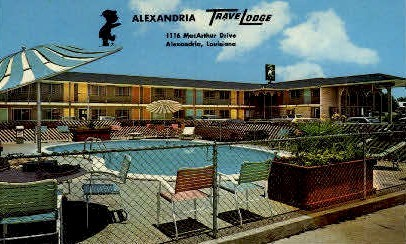 MacArthur Drive - Alexandria, Louisiana LA Postcard