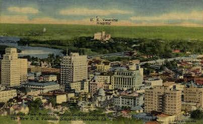 U.S. Vetrans' Hopsital  - Shreveport, Louisiana LA Postcard