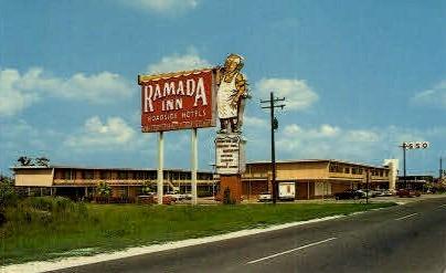 The Ramada Inn - Lake Charles, Louisiana LA Postcard