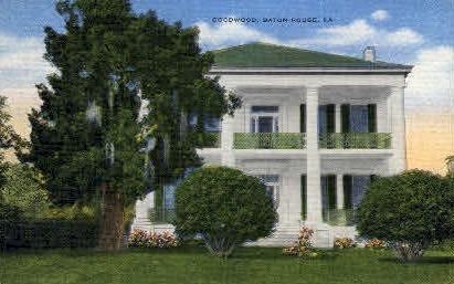 Goodwood - Baton Rouge, Louisiana LA Postcard