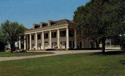 Louisiana Governor's Mansion - Baton Rouge Postcard