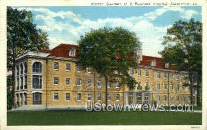 Nurses quarters Veterans Hospital - Alexandria, Louisiana LA Postcard