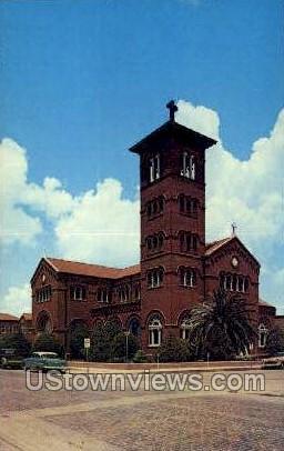 Church of immaculate conception - Lake Charles, Louisiana LA Postcard