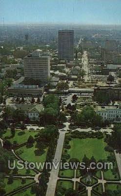Downtown baton rouge - Louisiana LA Postcard