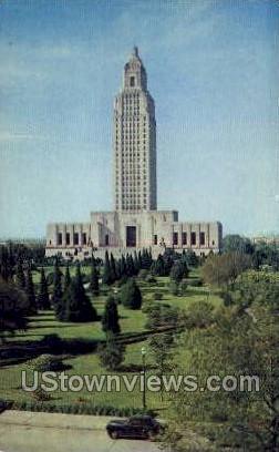 New state capitol building - Baton Rouge, Louisiana LA Postcard
