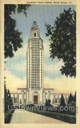State capitol - Baton Rouge, Louisiana LA Postcard